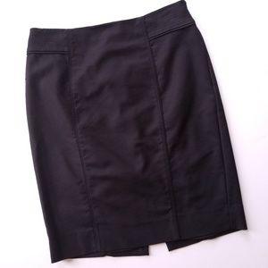 WHBM Black Career Wear Pencil Skirt Sz 6
